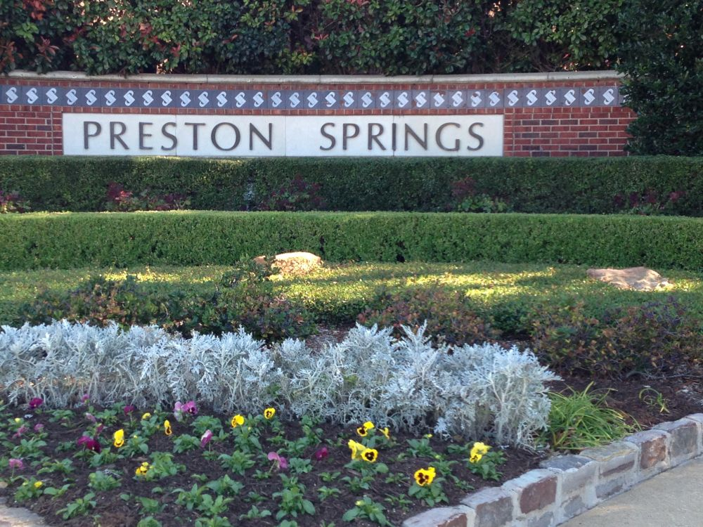 Preston Springs Plano Texas